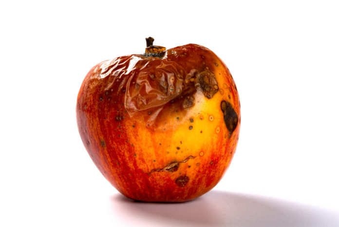 Decaying Apple
