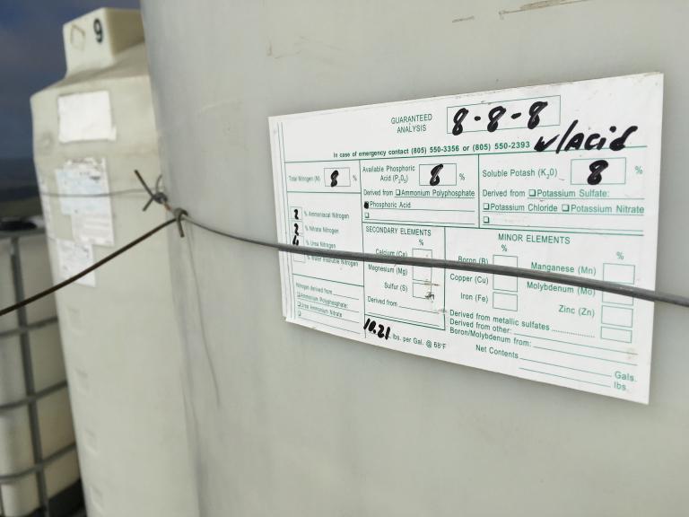 Making Nitrogen & Potassium Fertilizer Decisions in Vineyards
