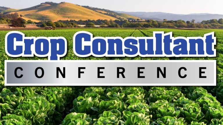 The Crop Consultant Conference Returns as In-Person Event Over Two Days